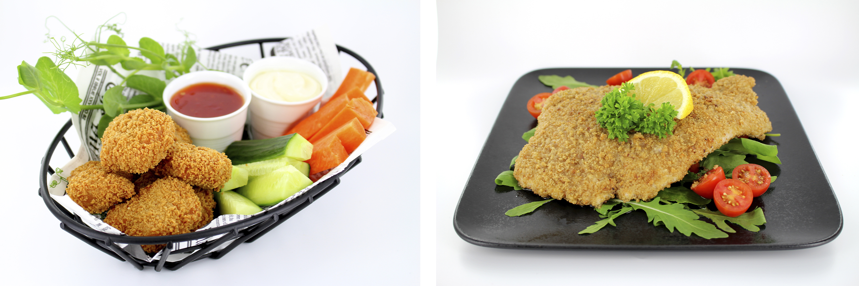 Oatgoods Breading dishes